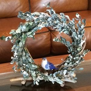 Other - ⭐️ Holiday Decor Wreath NWT